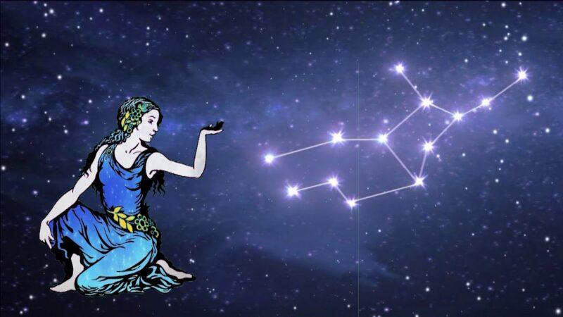 como encontrar la constelacion de virgo