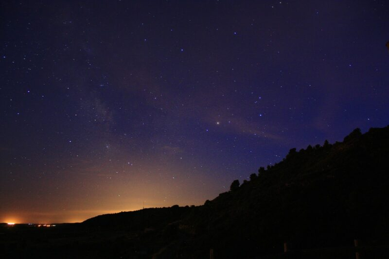 como ver constelacion escorpio